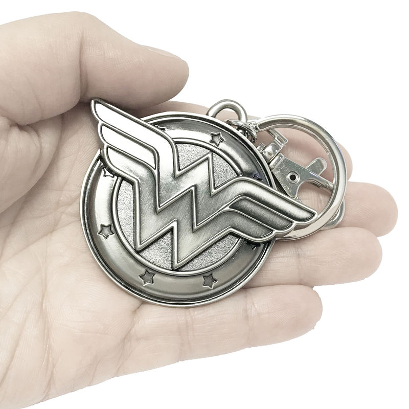 Wonder Woman Pewter Keychain - product images  of