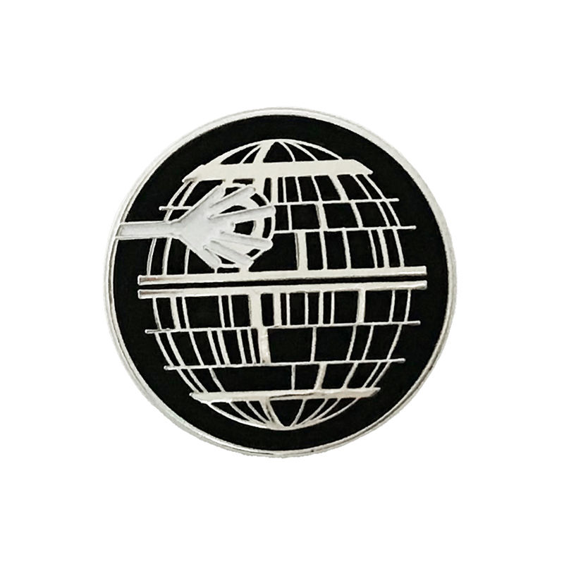 Death Star Glow-in-the-Dark Enamel Pin - product images  of