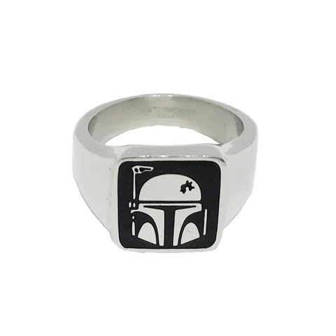 Star,Wars,Boba,Fett,Ring,star wars, ring, mens, boba fett, bounty hunter, jewelry, geek, stainless steel, official