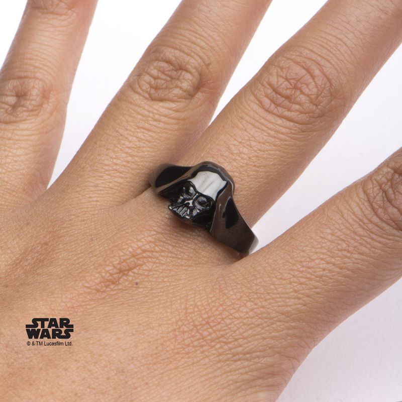 Star Wars Black Darth Vader Ring - product images  of