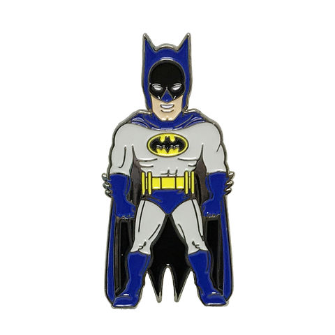 Batman,Character,Enamel,Pin,batman, pin, enamel pin, badge, collectors, classic, colour, 1966, character, figural, figure, comic books