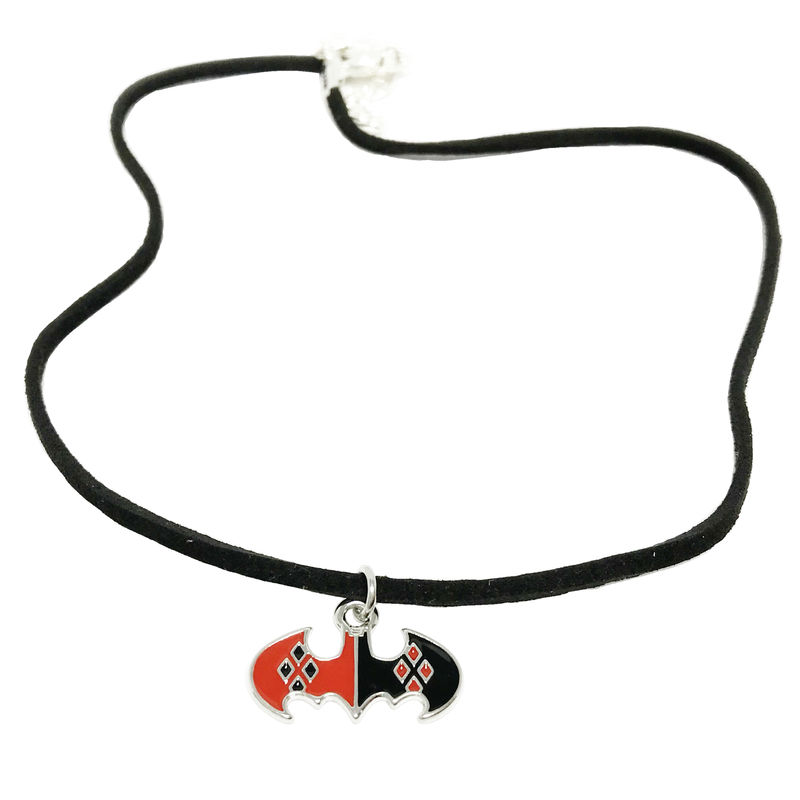 Harley Quinn Bat Symbol Choker - product images  of