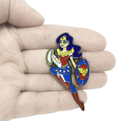 Super Hero Girls Wonder Woman Enamel Pin - product images  of