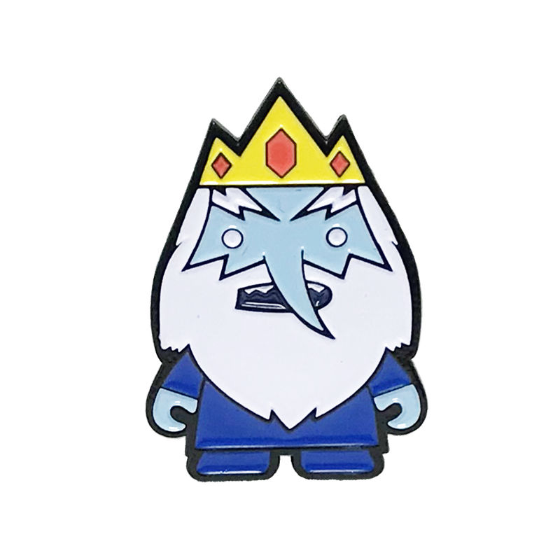 Adventure Time Ice King Enamel Pin - product images  of