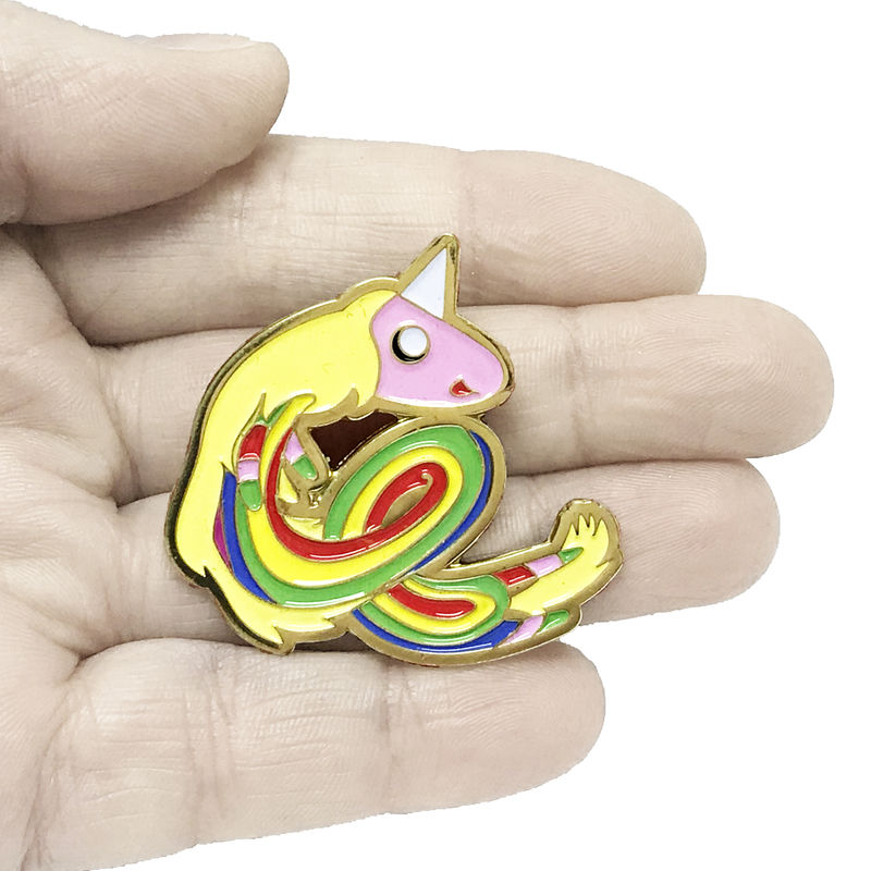 Adventure Time Lady Rainicorn Enamel Pin - product images  of