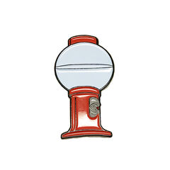 MST3K Tom Servo Enamel Pin - product images  of
