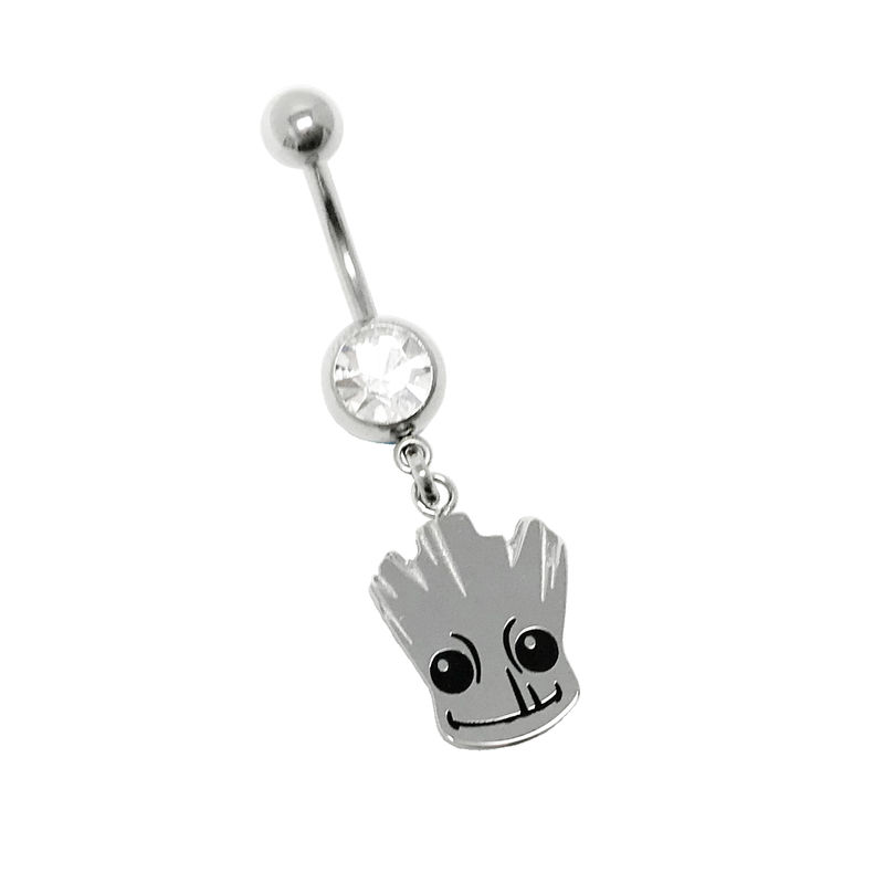 Baby Groot Belly Button Ring - product image
