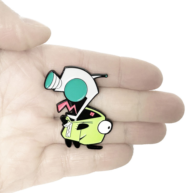 Invader Zim Enamel Pin, Gir - product images  of