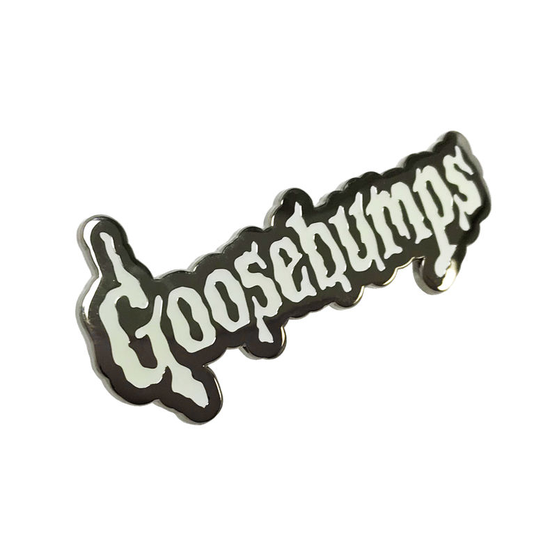Goosebumps Glow in the Dark Enamel Pin - product images  of