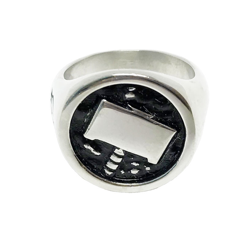 Thor's Hammer Stainless Steel Ring - product images  of