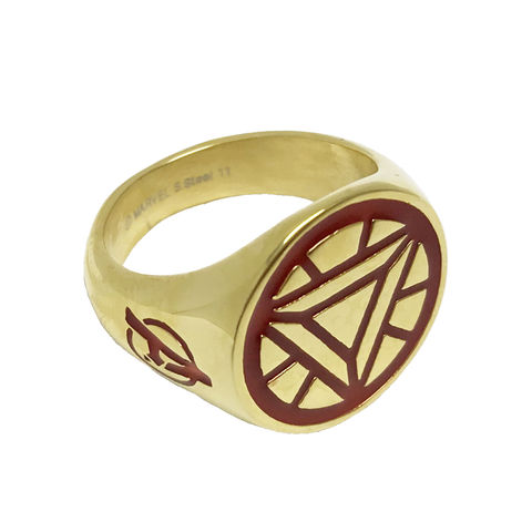 Iron,Man,Arc,Reactor,Ring,iron man, arc reactor, ring, mens ring, signet ring, chevalière, tony stark, geek, geeky, avengers, jewelry