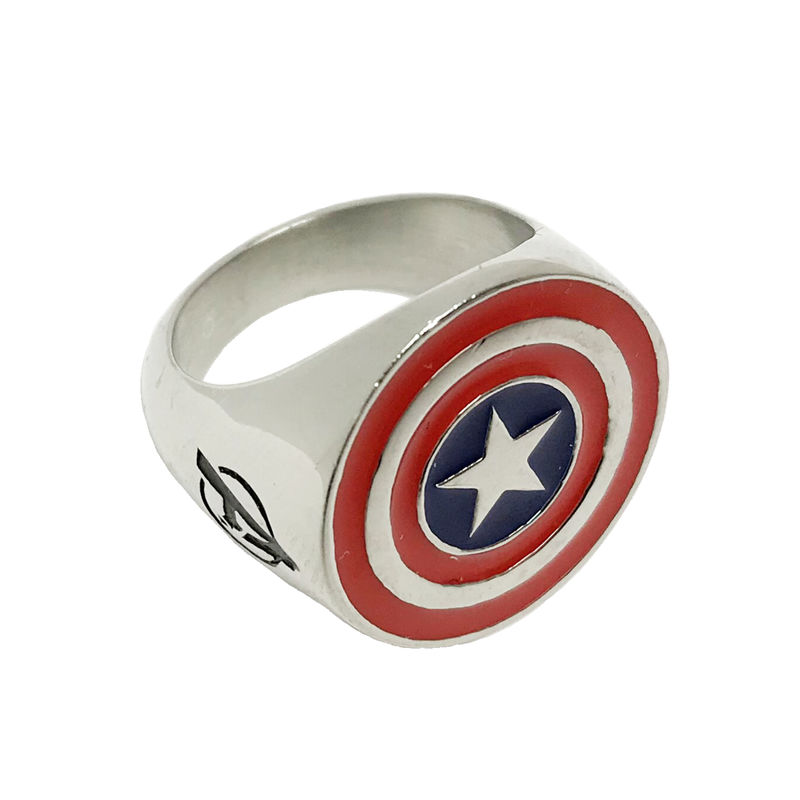 Captain America Stainless Steel Ring - product images  of