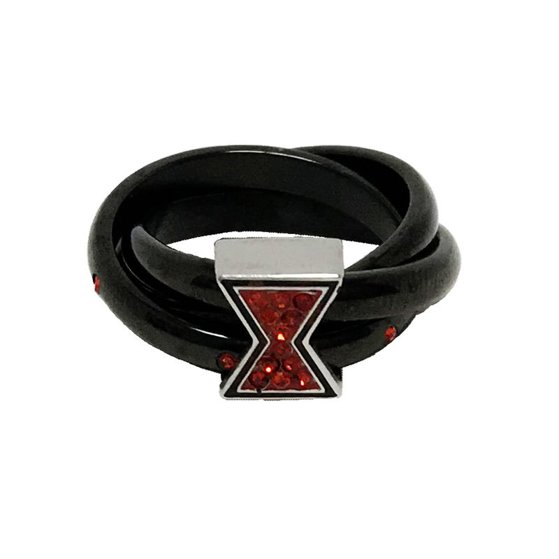 Black Widow black and red ring - product images  of