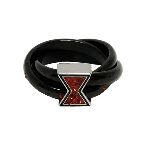 Black,Widow,black,and,red,ring,black widow, ring, womens ring, women's, ladies, lady's, black, red, sparkly, gems, bling, geeky, avengers