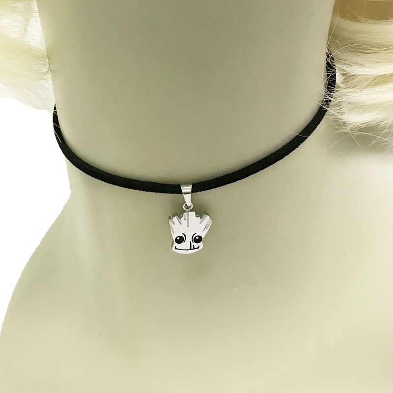 Baby Groot Choker Necklace - product images  of