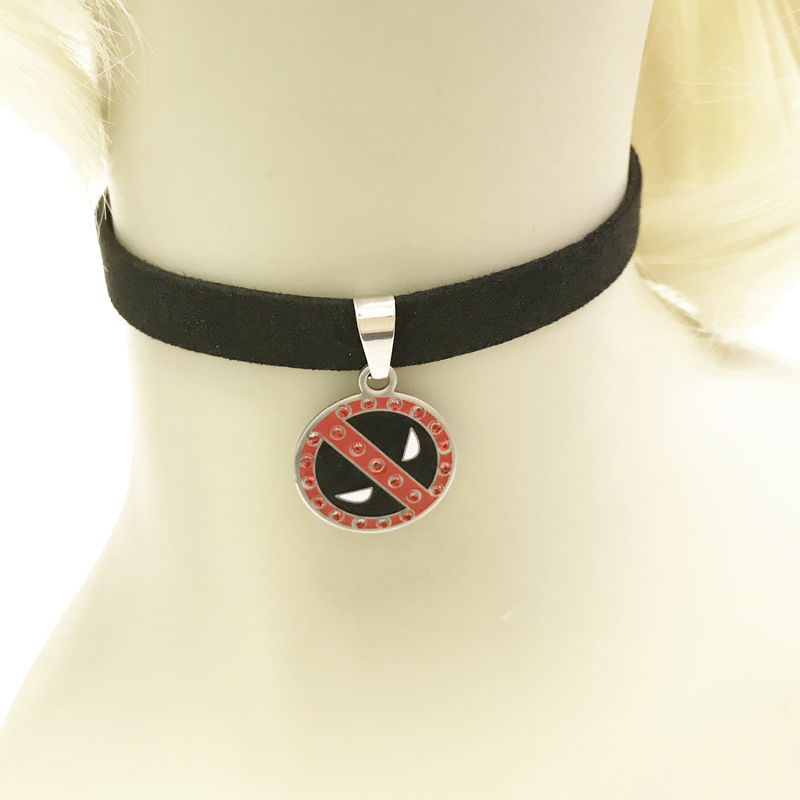 Deadpool Choker Necklace - product images  of
