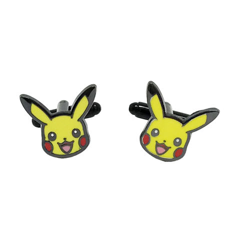 Pikachu,Cuff,Links,pikachu, pokémon, pokemon, cuff links, cufflinks, geeky, wedding, retro, nineties, 90s, pokemon go