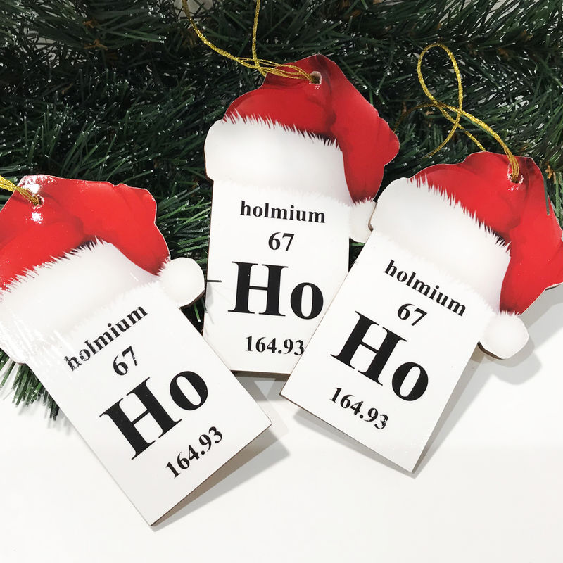 Periodic Table Christmas Ornament - product images  of