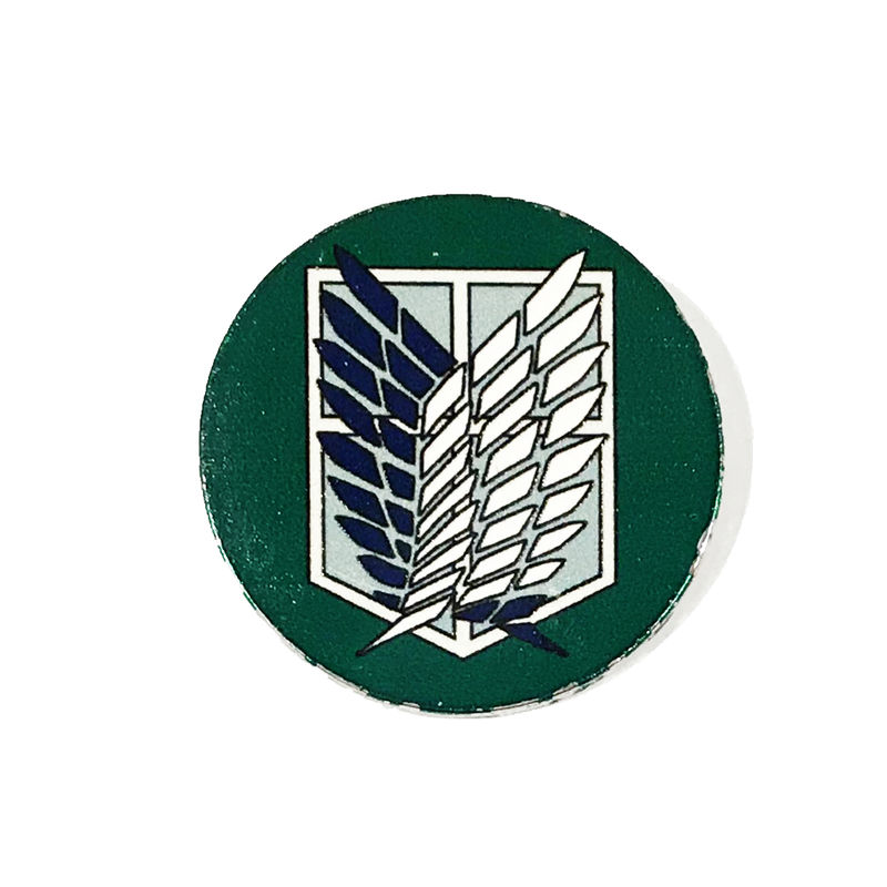 Attack on Titan Green Enamel Pin - product images  of