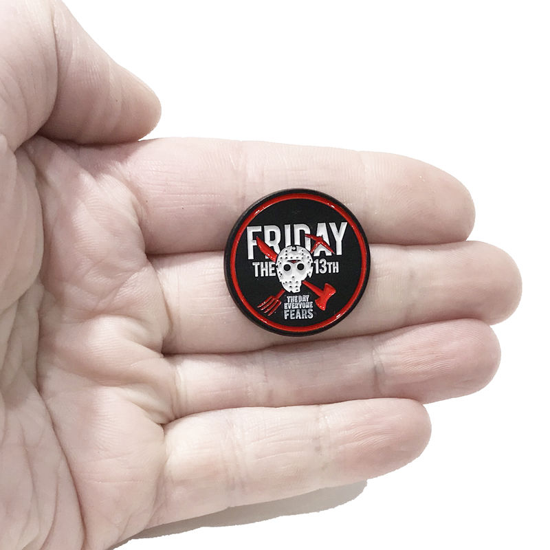 Friday the 13th Enamel Pin - product images  of