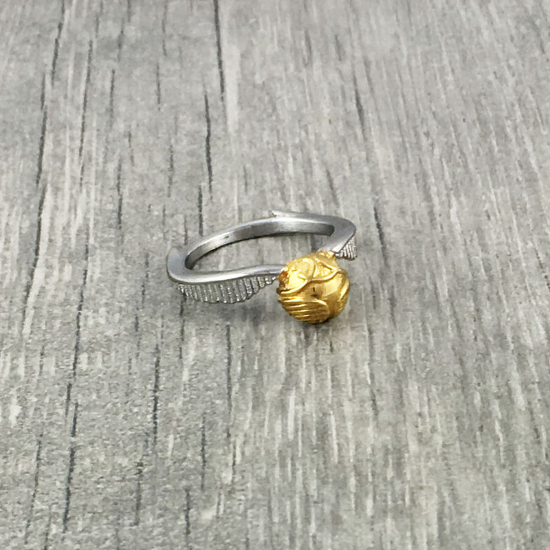 Harry Potter Golden Snitch Ring - product images  of