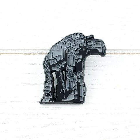 Star,Wars,|,AT-AT,Enamel,Pin,star wars, AT-AT, walker, atat, enamel pin, metal, colour, ship, geeky, walking machine