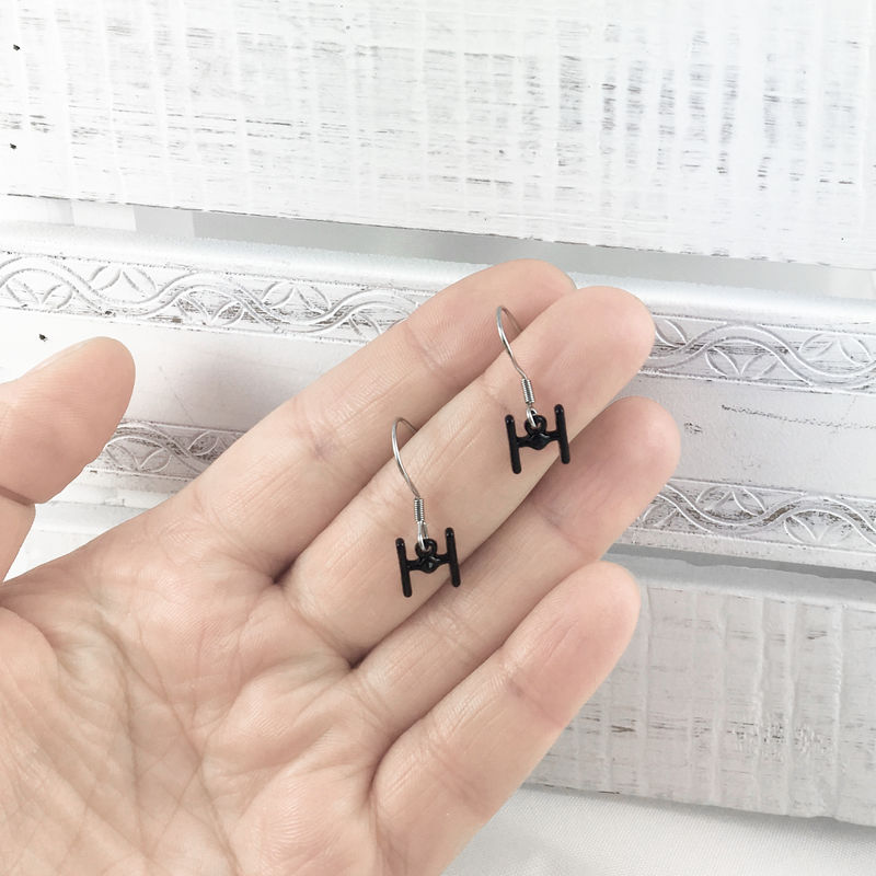 Star Wars | Tiny Tie Fighter Earrings - product images  of