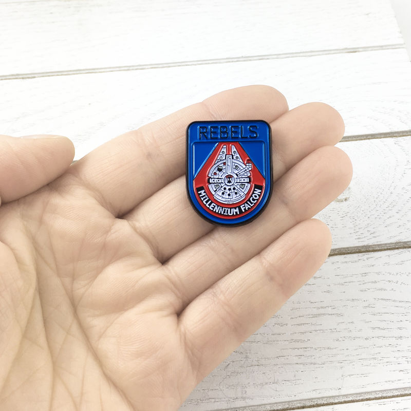 Star Wars |  Millennium Falcon Rebels Enamel Pin - product images  of