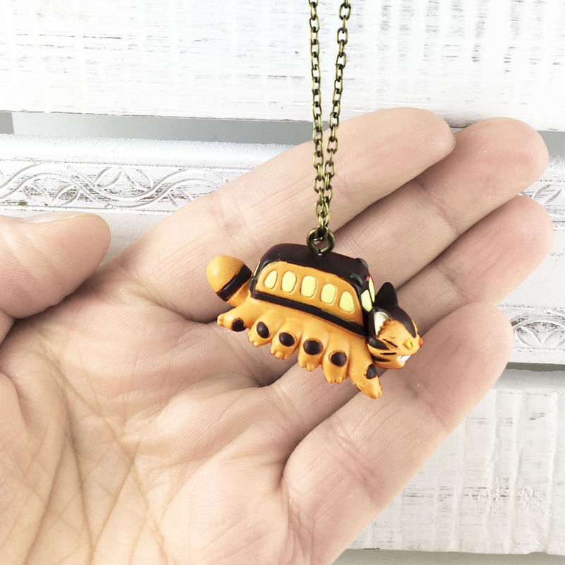 My Neighbor Totoro | Catbus 3D Necklace - product images  of