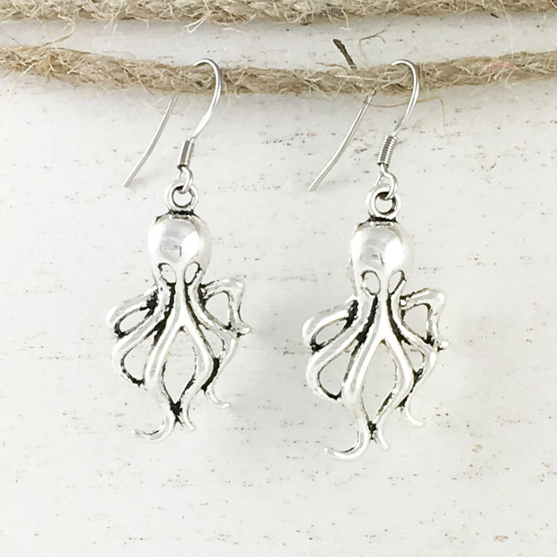 Squid Earrings - product images  of