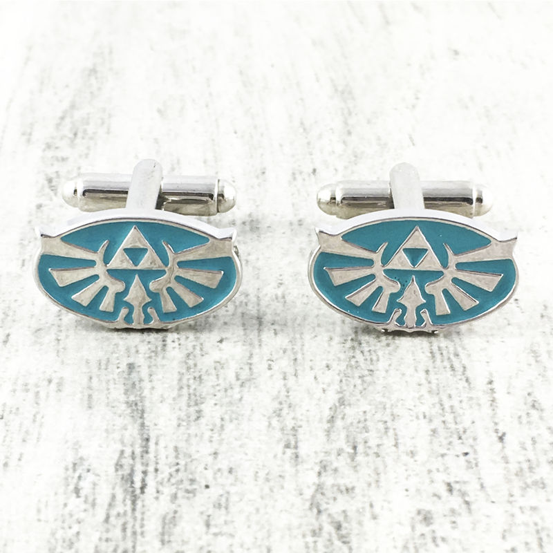 Zelda | Blue Hyrule Cuff Links - product images  of