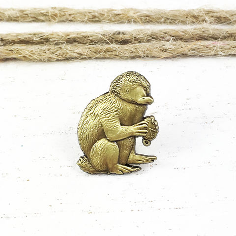 Fantastic,Beasts,|,Bronze,Niffler,Pin,Fantastic beasts, niffler, pin, bronze, lapel pin, tie tac, harry potter