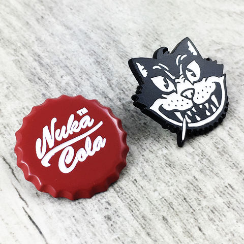 Fallout,Enamel,Pin,Set,|,Nuka,Cola,and,Atom,Cats,fallout, enamel pin, nuka cola, atom cats, vault tec, pin set, gamer, geeky