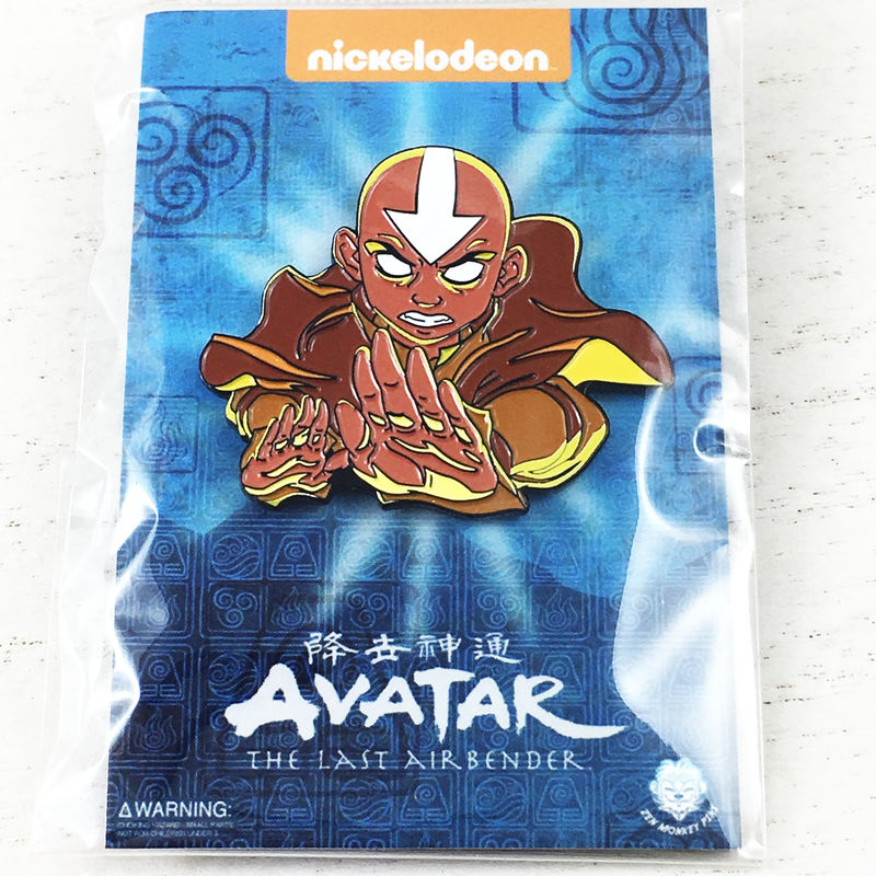 Avatar: The Last Airbender | Aang Enamel Pin - product images  of