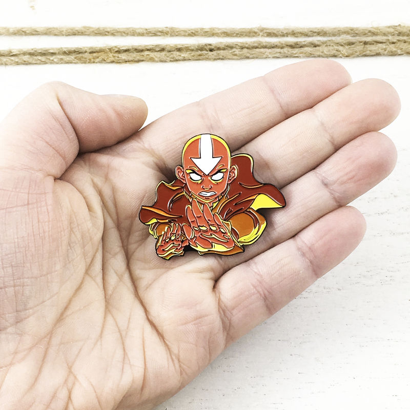Avatar: The Last Airbender | Aang Statue Enamel Pin - product images  of