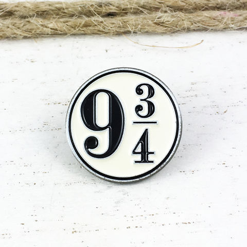 Harry,Potter,Platform,9-3/4,Enamel,Pin,harry potter, platform 9-3/4, enamel pin, metal pin, lapel pin, hat pin, train platform, hogwarts express