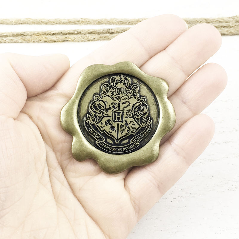 Hogwarts Seal Large Pin - product images  of