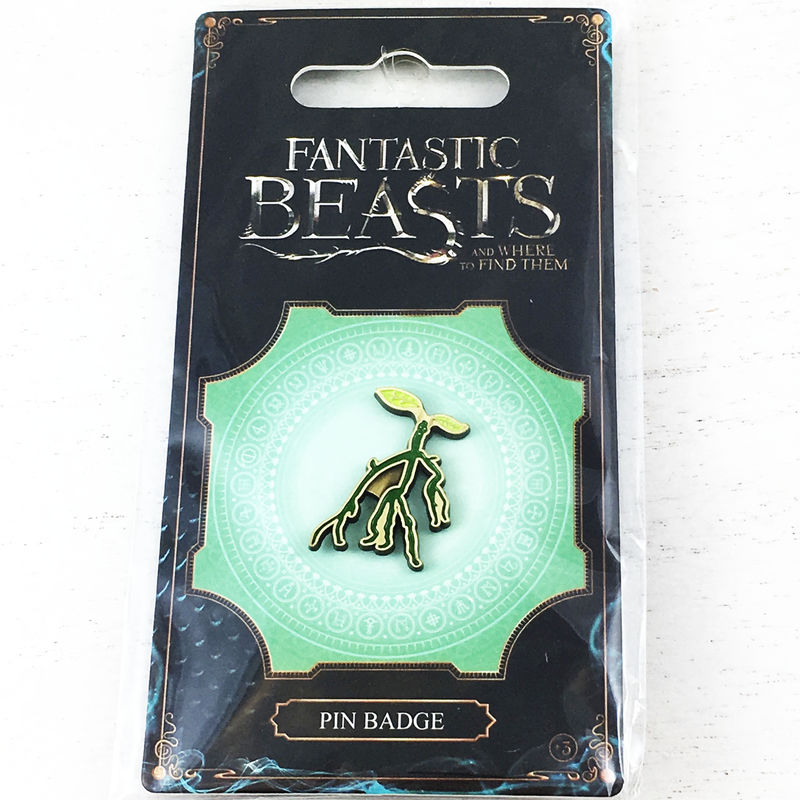 Fantastic Beasts Bowtruckle Enamel Pin - product images  of