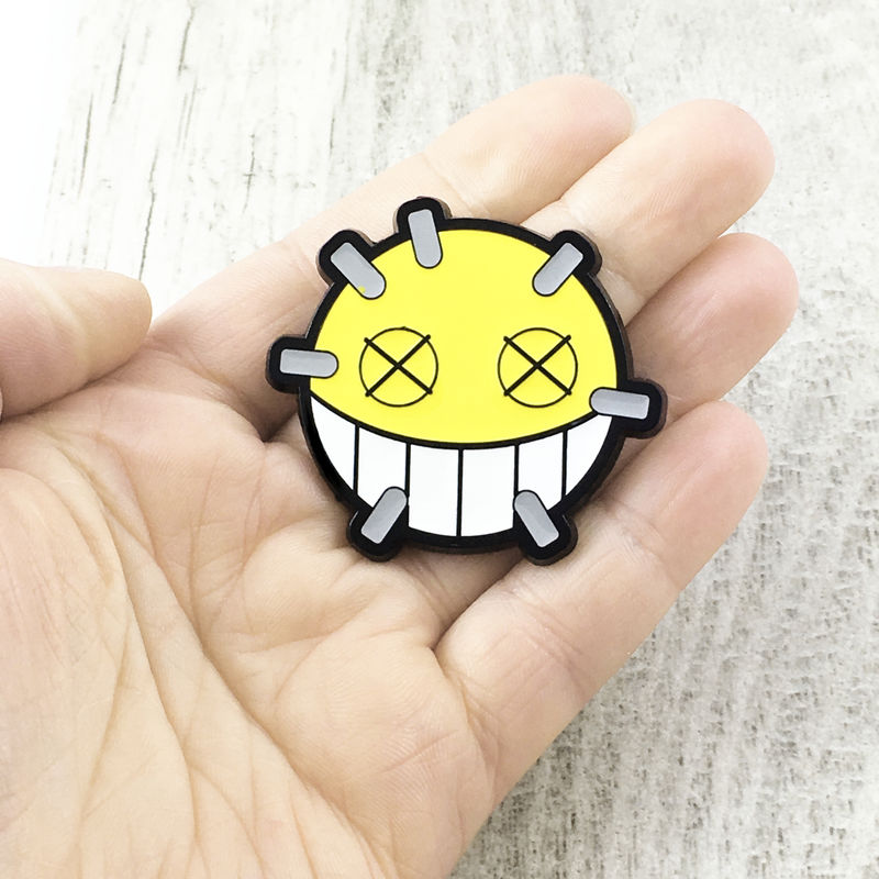 Overwatch Junkrat Large Enamel Pin - product images  of