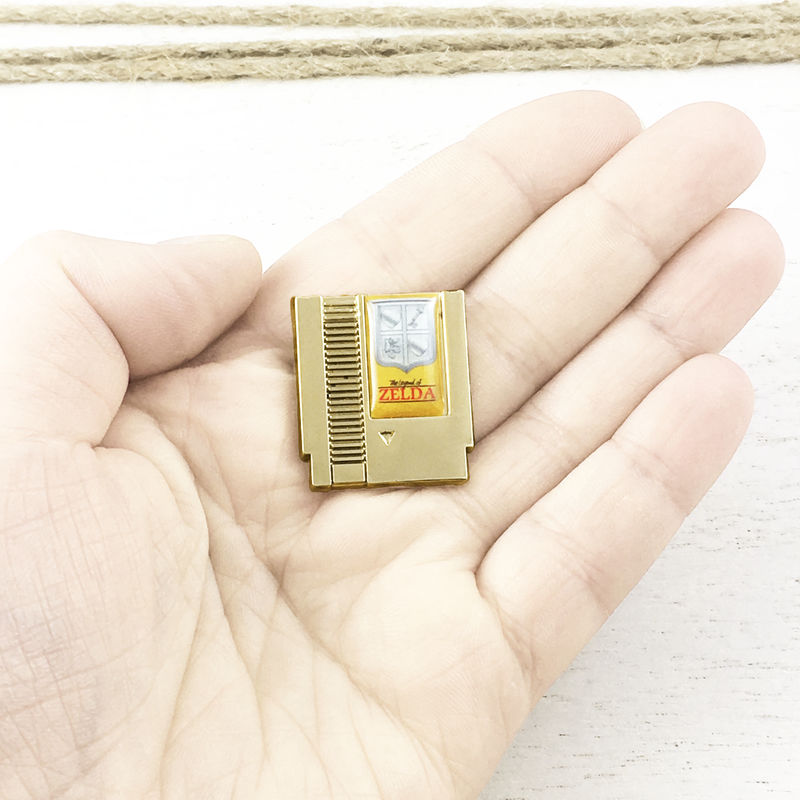 Legend of Zelda Game Cartridge Pin - product images  of