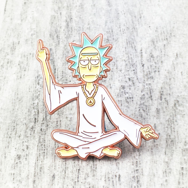 Rick and Morty Spiritual Rick Pin - product images  of