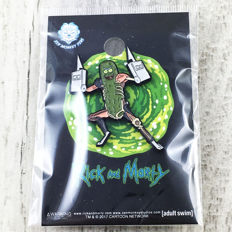 Rick and Morty Pickle Rick Pin - product images  of