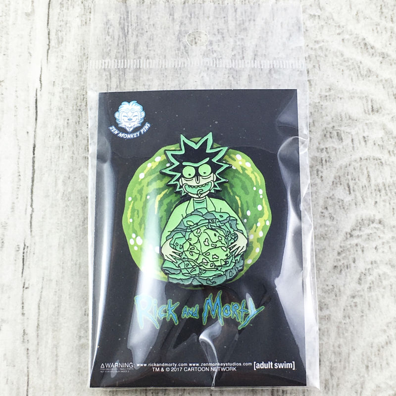 Rick and Morty Rick's Isotope Enamel Pin - product images  of