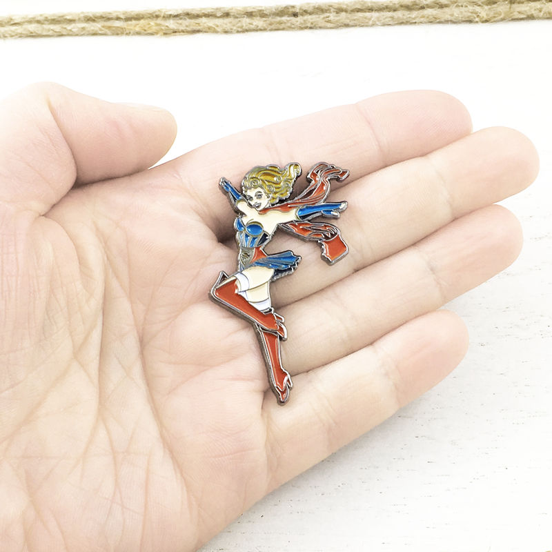 DC Bombshells Supergirl Enamel Pin - product images  of