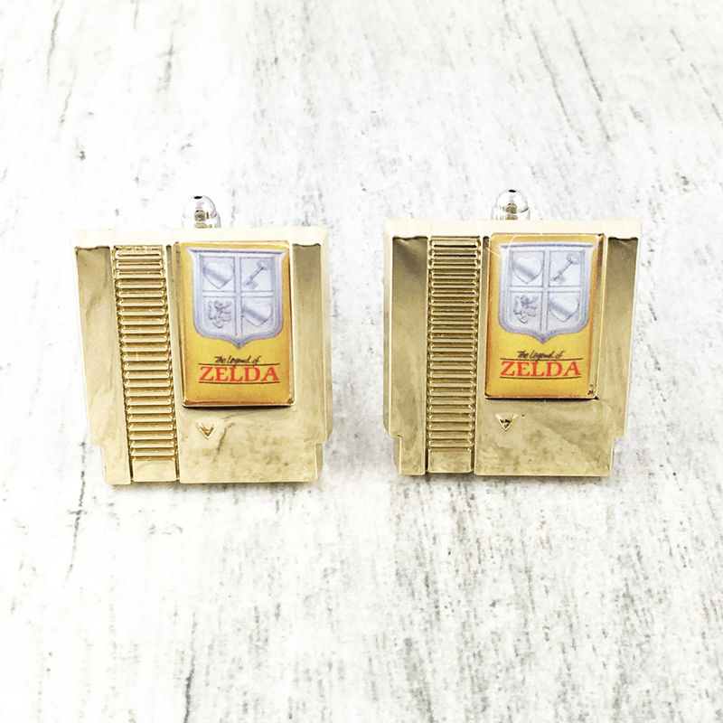 Legend of Zelda Cartridge Cuff Links - product images  of