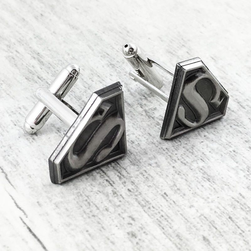 Superman Pewter Cuff Links - product images  of