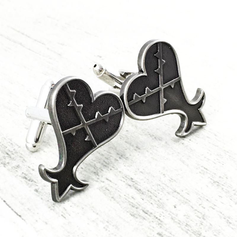 Kingdom Hearts Heartless Cuff Links - product images  of