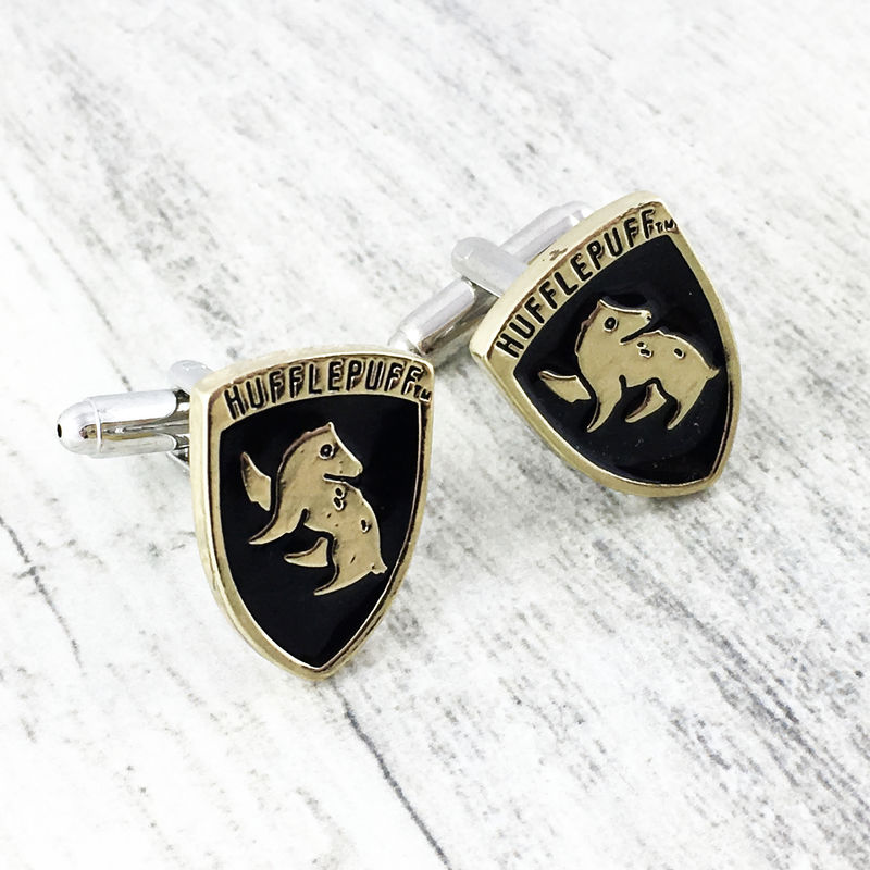 Harry Potter Hufflepuff Cuff Links - product images
