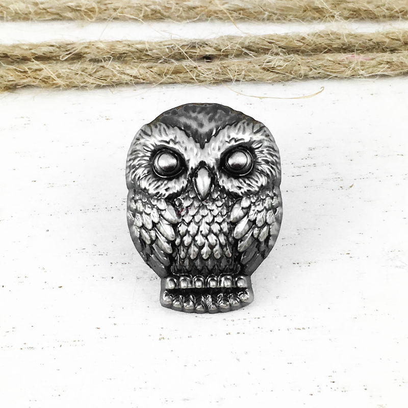 Harry Potter Hedwig Pewter Pin - product images  of