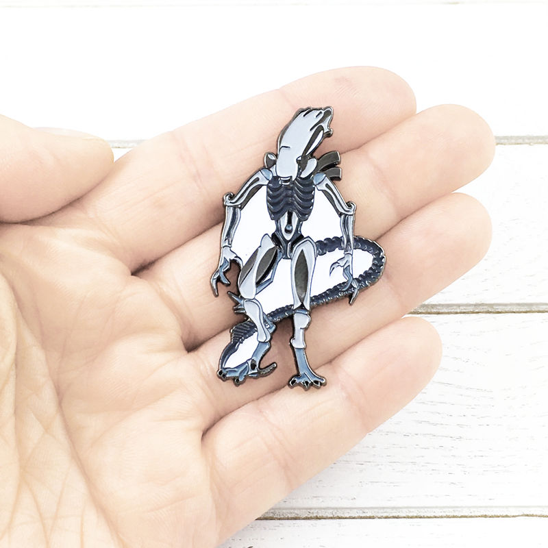 Alien Xenomorph Enamel Pin - product images  of